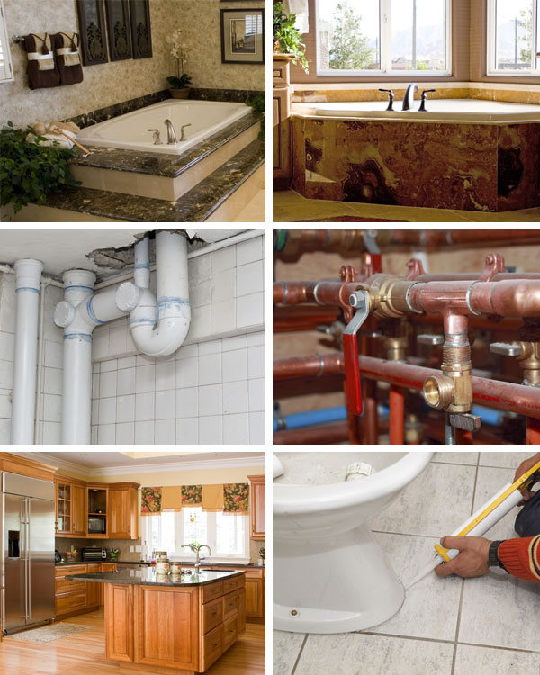 5 Corners Plumbing Collage